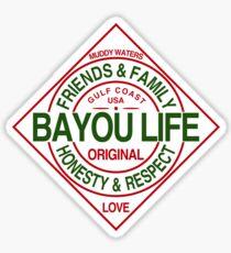 The Bayou Life Homage Sticker