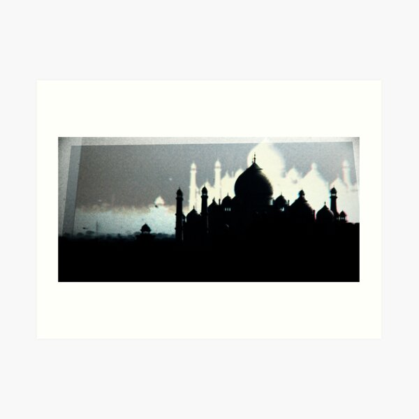 A Silent Film About a Death in Agra Art Print