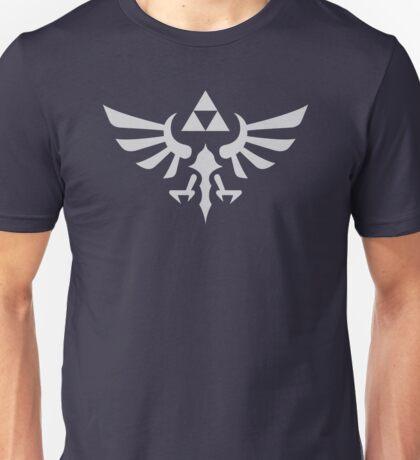 The Legend of Zelda Royal Crest (silver) Unisex T-Shirt