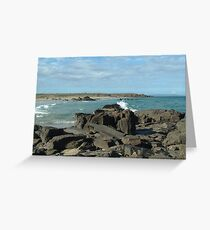 Rocks & Seas Greeting Card