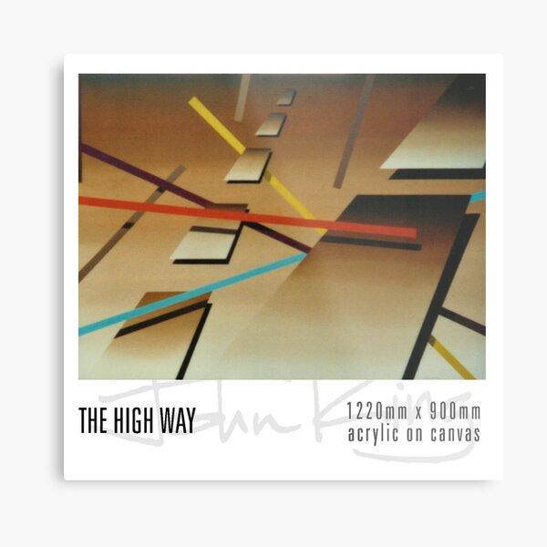 The High Way Metal Print
