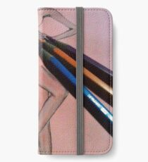colored pencil iPhone Wallet/Case/Skin