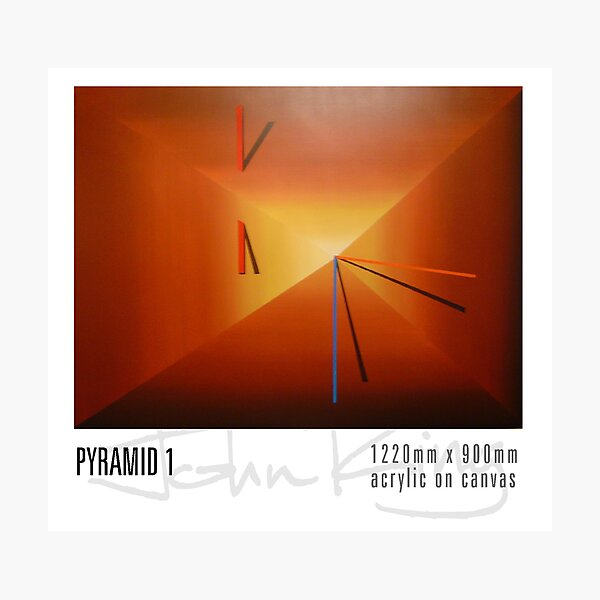 Pyramid1 Photographic Print