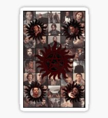 Supernatural - Four Kings Sticker