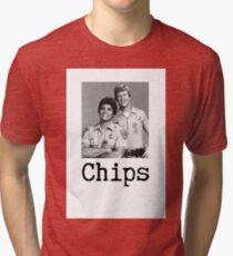 Chips.  Tri-blend T-Shirt