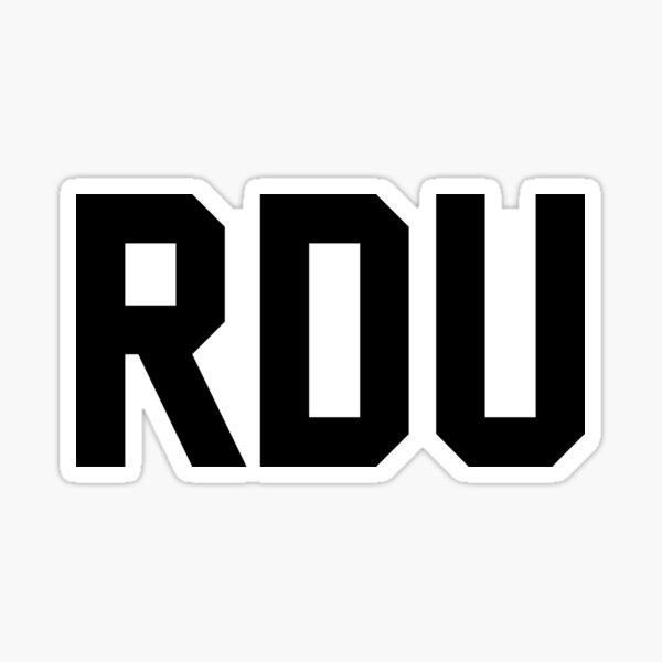 RDU Sticker