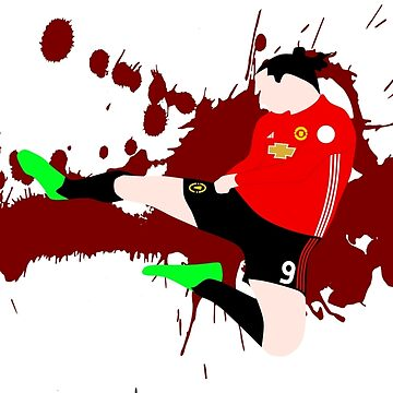 Zlatan Ibrahimovic by HTWallace