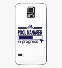 POOL MANAGER - IN PROGRESS Hülle & Klebefolie für Samsung Galaxy