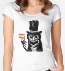 BABADOOK Women's Fitted Scoop T-Shirt