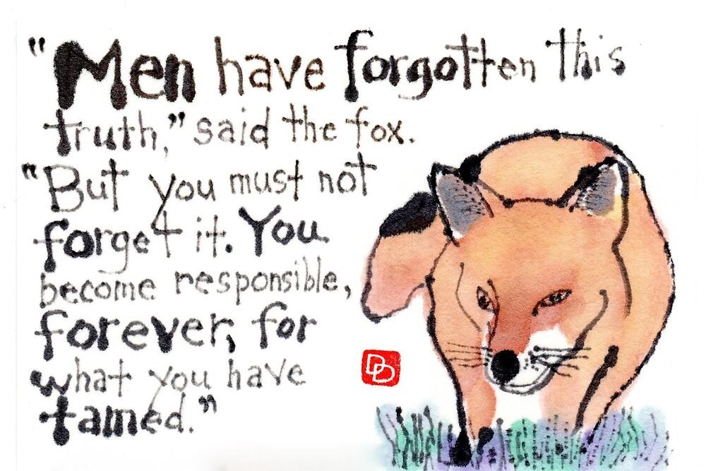 Wise Fox by dosankodebbie