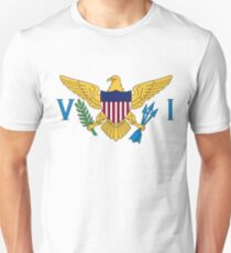 Flag of the Virgin Islands Unisex T-Shirt