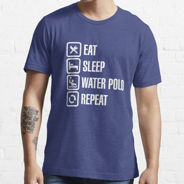 Eat Sleep Water Polo Repeat Essential T-Shirt
