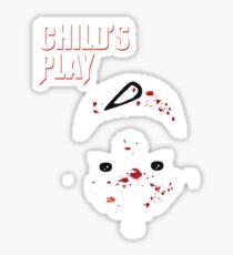 Childs Play Sticker