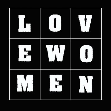 LGBT Design - Love Women  by kudostees