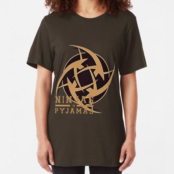 Ninjas In Pyjamas  Slim Fit T-Shirt