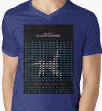 Blade Runner Mens V-Neck T-Shirt