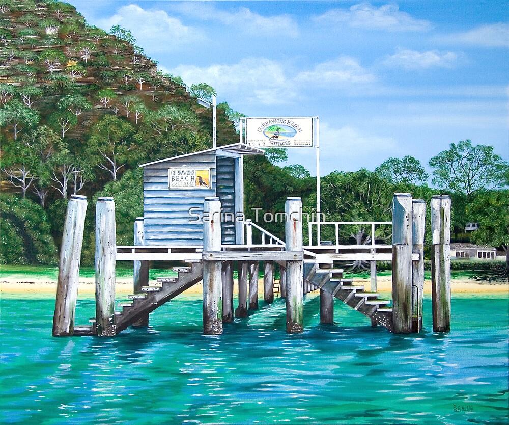 Currawong Beach Wharf by Sarina Tomchin