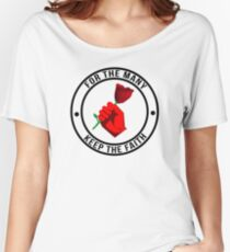 Jeremy Corbyn - Keep The Faith © // UK LABOUR PARTY Women's Relaxed Fit T-Shirt