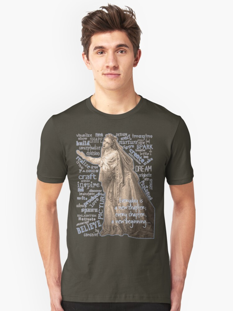 Wise Words Unisex T-Shirt Front
