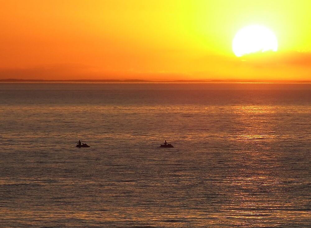 jetski fishing by SDJ1