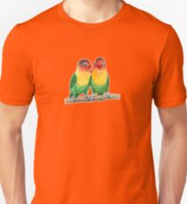 Fischer's lovebirds Unisex T-Shirt