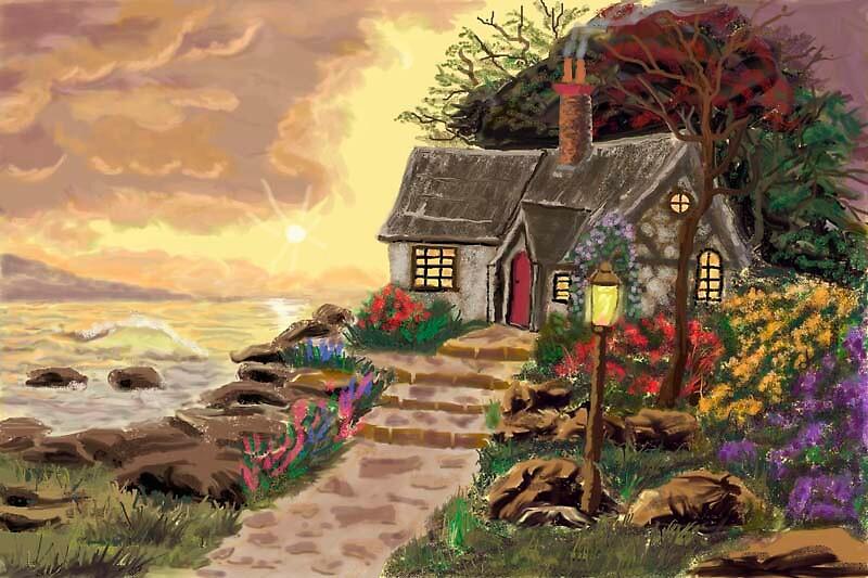 Seaside Cottage by MayWebb