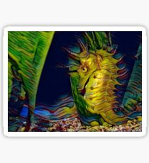 A seahorse called Vincent Sticker