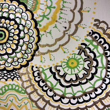 Mandala  by pcknockoutart