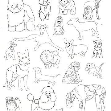 Doggos :) by RockettMagic