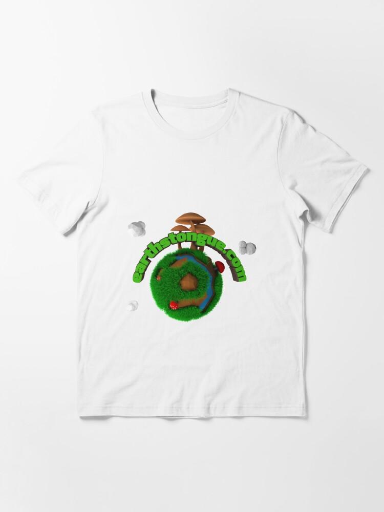 Vista alternativa de Camiseta esencial Earth´s Tongue
