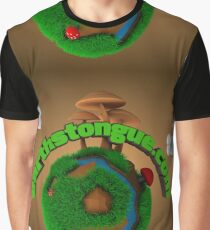 Earth´s Tongue  Graphic T-Shirt