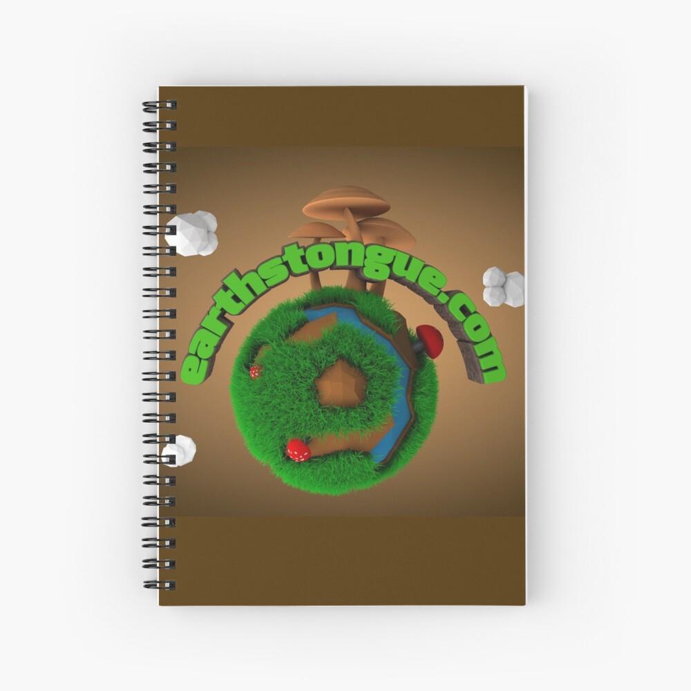 Earth´s Tongue  Cuaderno de espiral