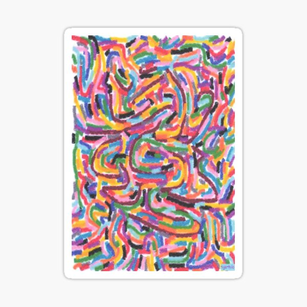 1808 - Expressions In Colours Sticker