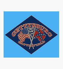 Vintage Gettysburg Battlefield 01076 Photographic Print
