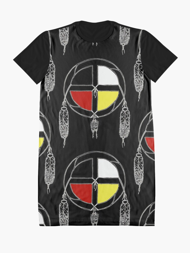 Alternate view of Good medicine Graphic T-Shirt Dress