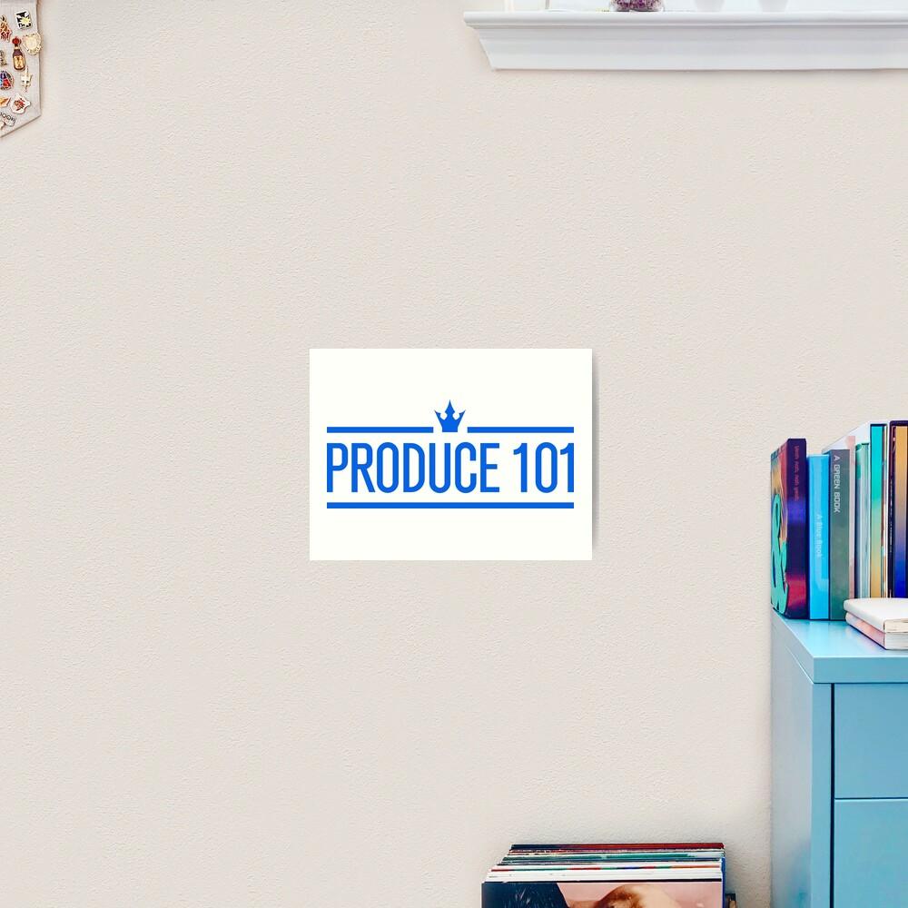 Produce 101 Logo Art Print