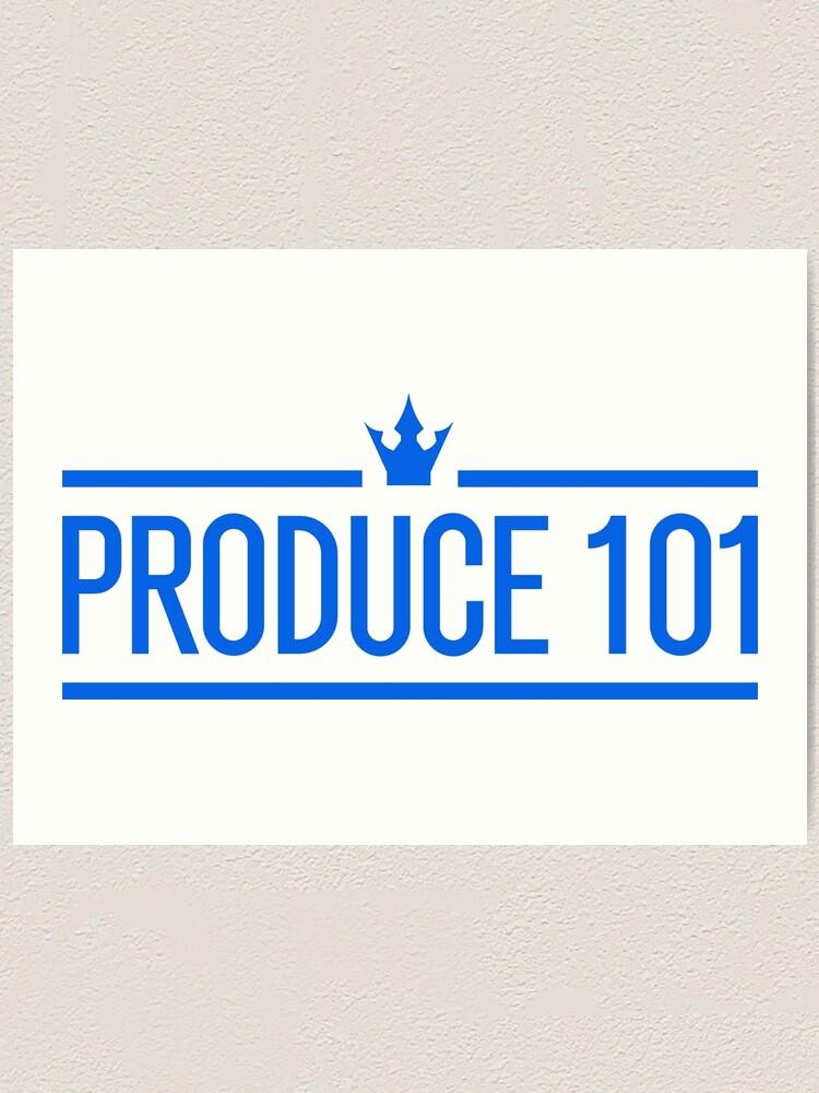 Alternate view of Produce 101 Logo Art Print