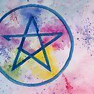 Pentagram by Linda Ursin