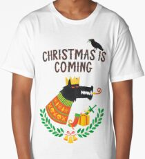 Christmas is coming Long T-Shirt
