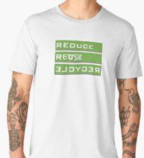 REDUCE REUSE RECYCLE Men's Premium T-Shirt