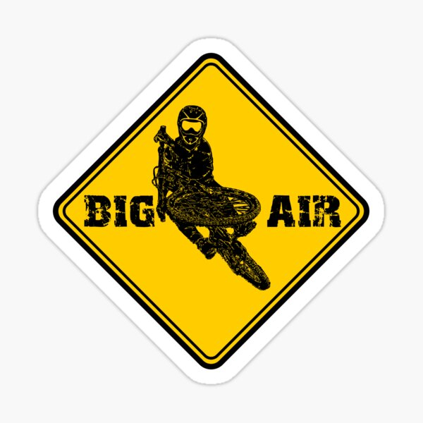 BIG AIR Sticker