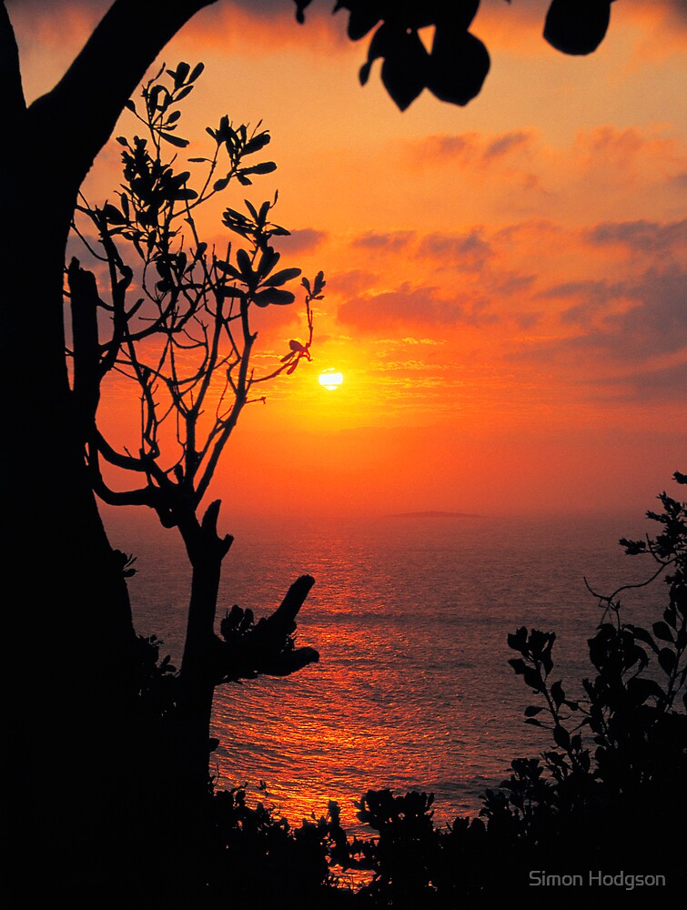 Lighthouse Sunrise by Simon Hodgson