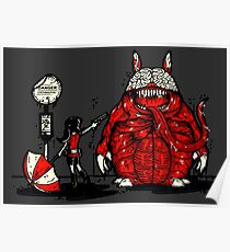 Totoro Was Infected Poster