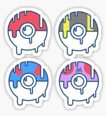 Pokeball Sticker Set 1 Sticker