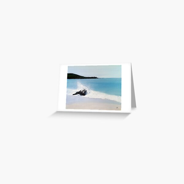 Beach of St Ives Greeting Card