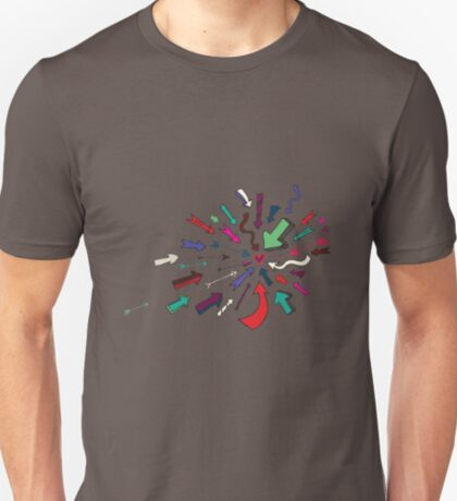 Arrows to your Heart - Valentine pattern by Cecca Designs T-Shirt