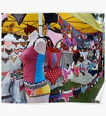 Colourful knickers  Poster