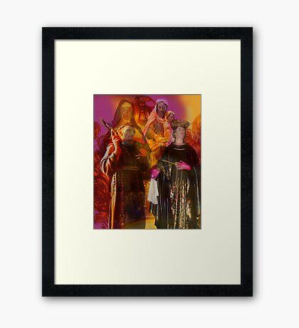 A Gathering of Saints Framed Print