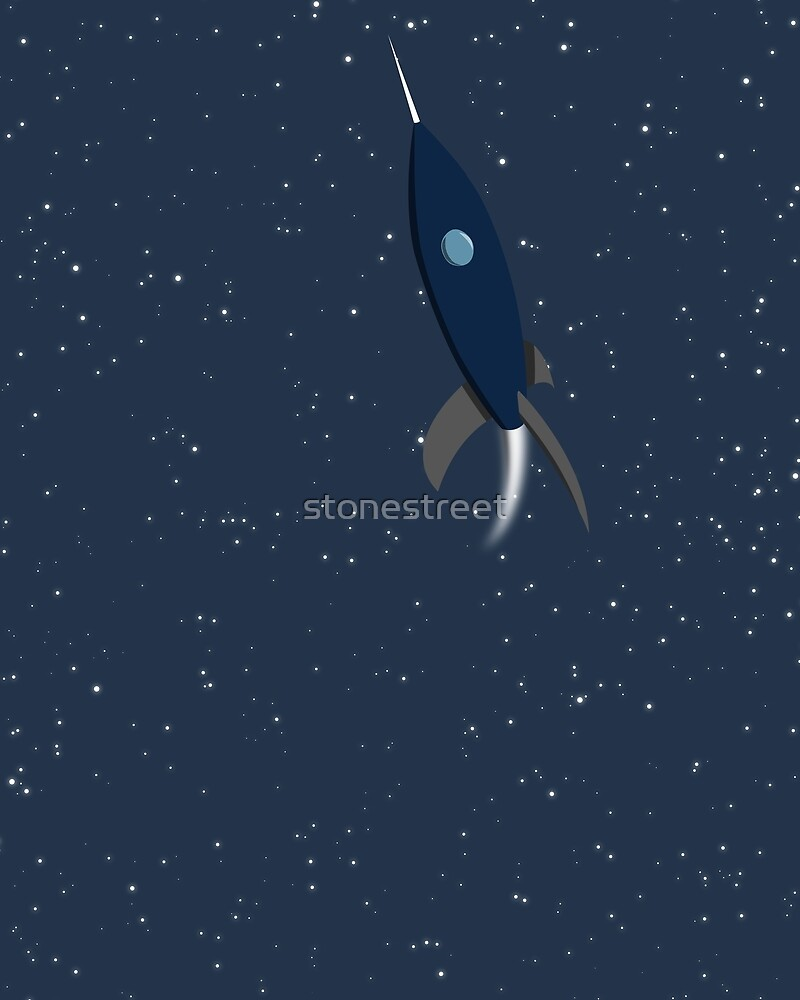 Space Rocket by stonestreet