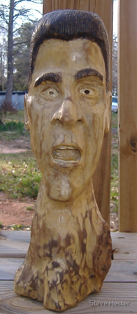 Wood Carving by Steve Hester